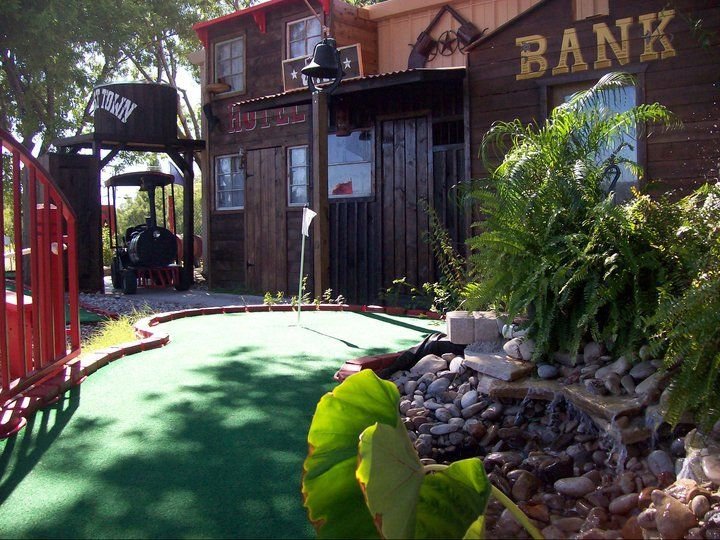 9 holes of Miniature Golf at The Spot in Del Rio, Texas!
