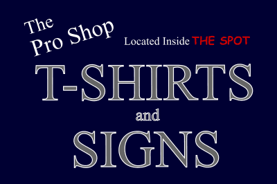 The Pro Shop T-Shirts and Signs logo